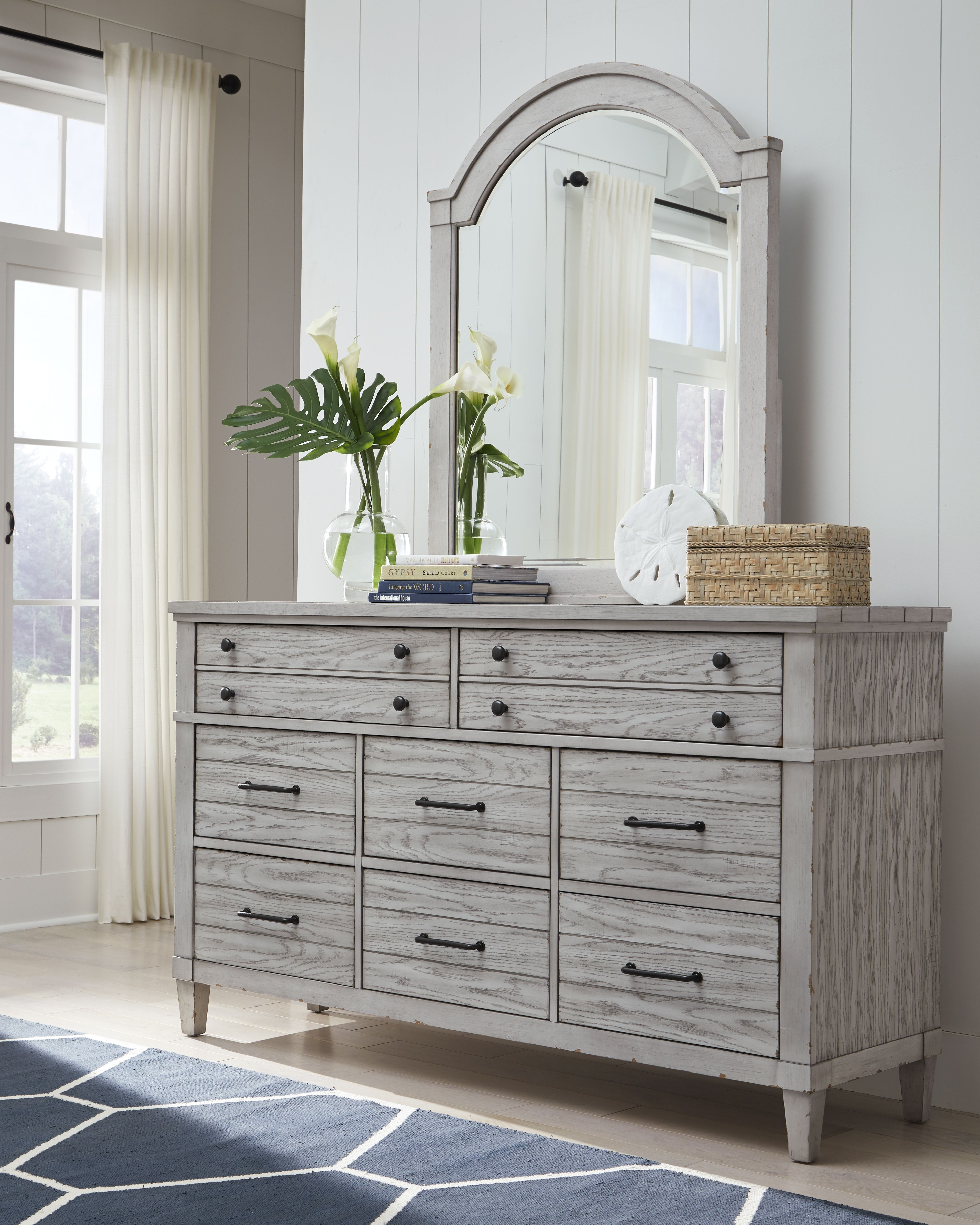 Belhaven Dresser Weathered White Legacy Classic Furniture