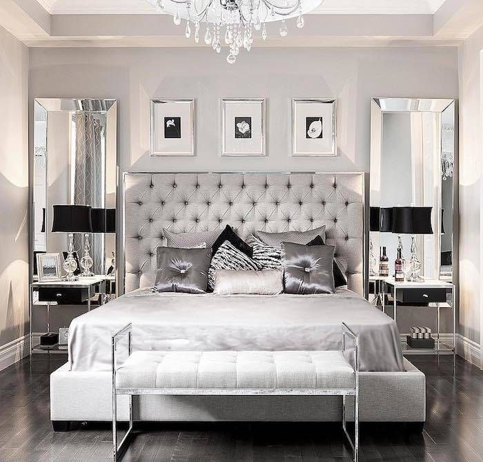 Photo of Decorating the bedroom – 55 ideas for wall design & Co