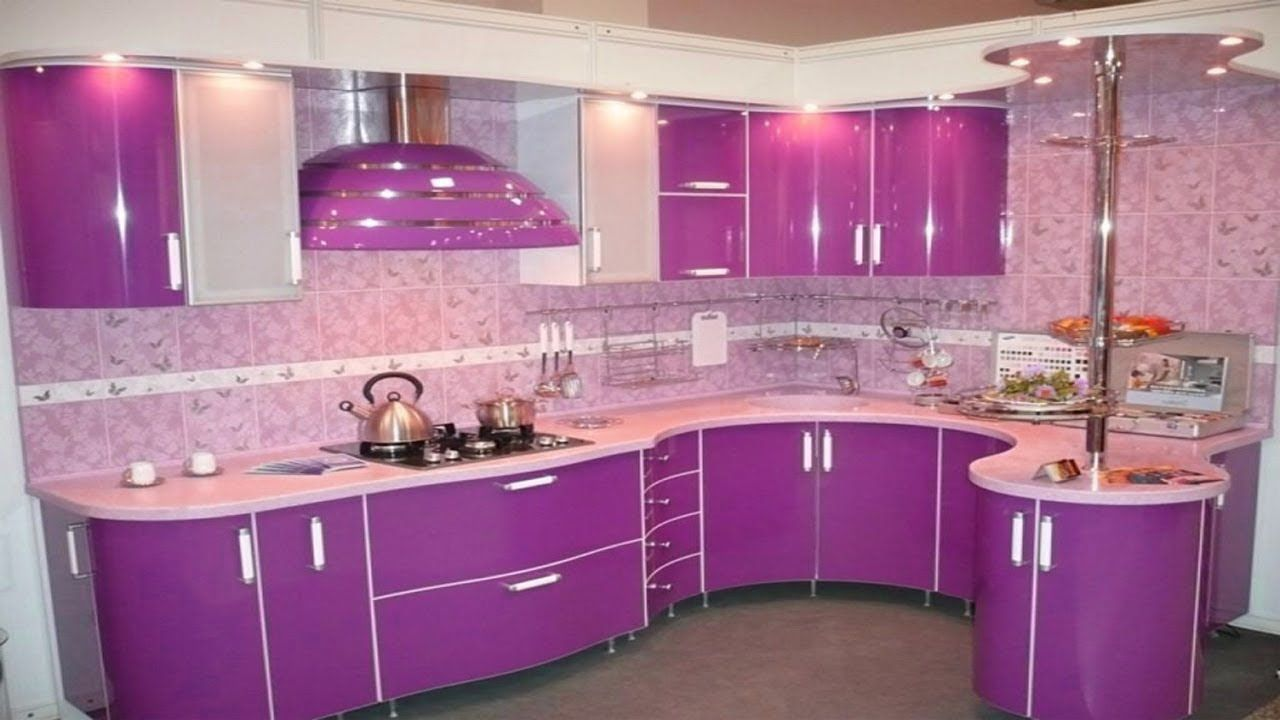 Latest Purple & Pink Kitchen Design Ideas Modern Kitchen