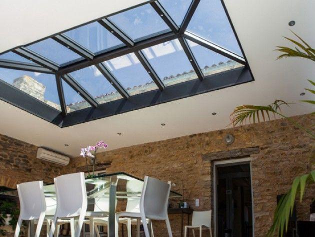 veranda salle manger toit ou plancher ouvert pinterest v randas manger et salle. Black Bedroom Furniture Sets. Home Design Ideas