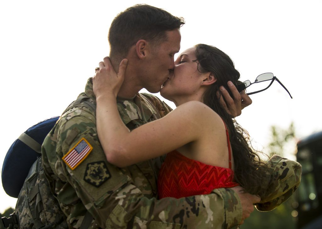 military dating rules