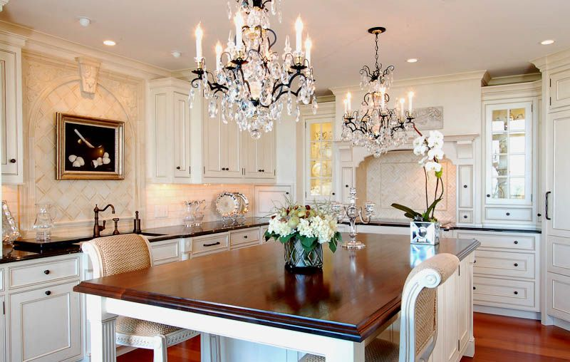 Beautiful An Atlanta European Classic White Painted Kitchen. DESIGN: Morgan Creek Cabinet  Company