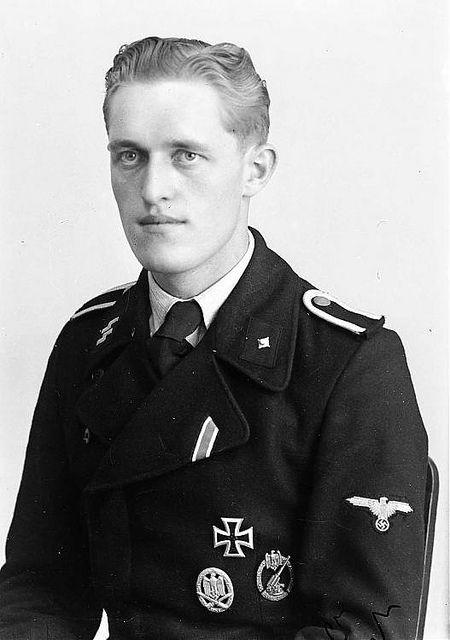 Ss Unterscharfhrer Unidentified Panzer Soldier Of Waffen Ss