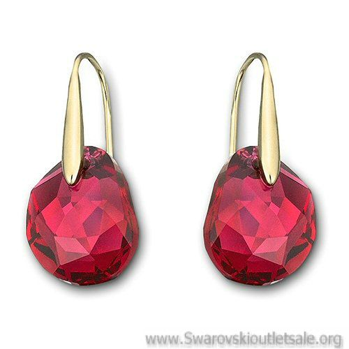 Swarovski Crystal Earrings Outlet Galet Pierced 1032280