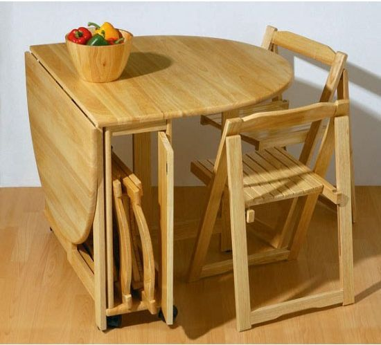 Small Folding Dining Table And Chairs Set
