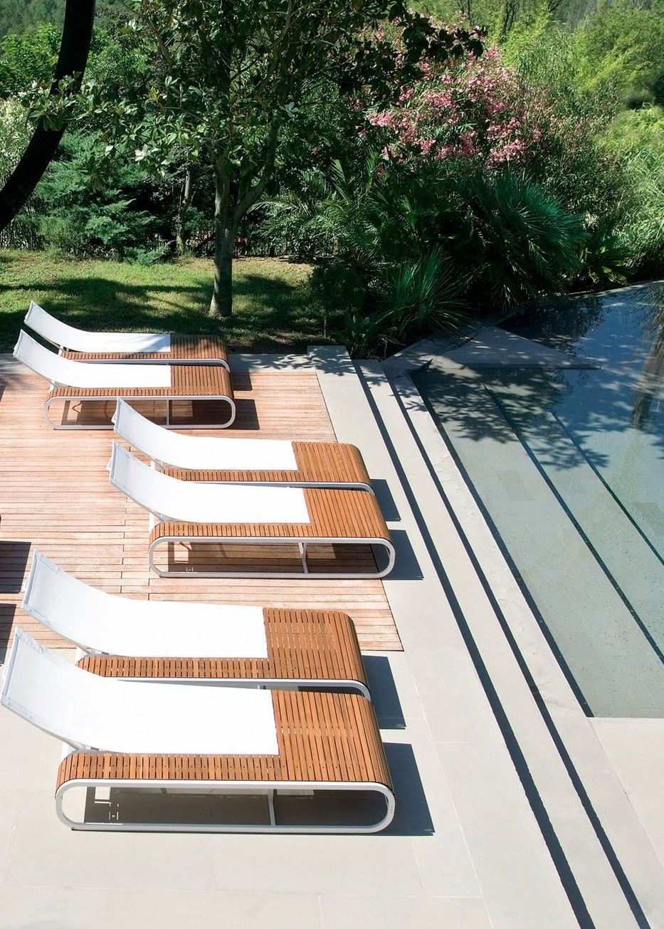 Pin On Outdoor Area Modern outdoor pool lounge chairs