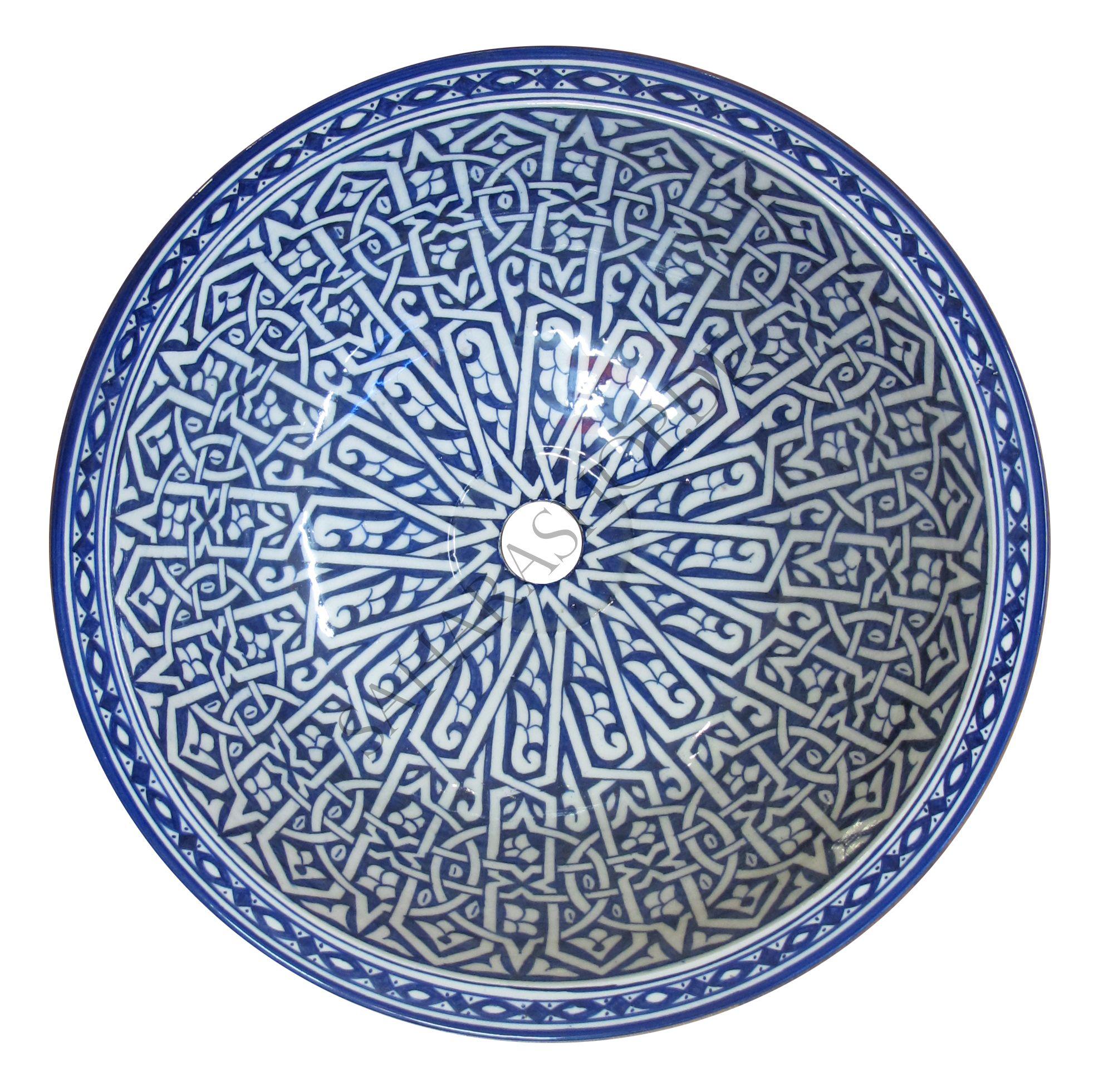 Orientalisches Keramik Waschbecken 4 Mittel Sweet Home