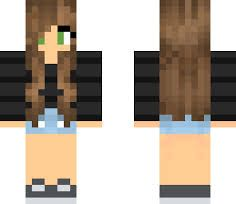 Resultado De Imagem Para Minecraft Girl Skins With Brown Hair And Brown Eyes Skins De Minecraft De Menina Minecraft Skins Minecraft