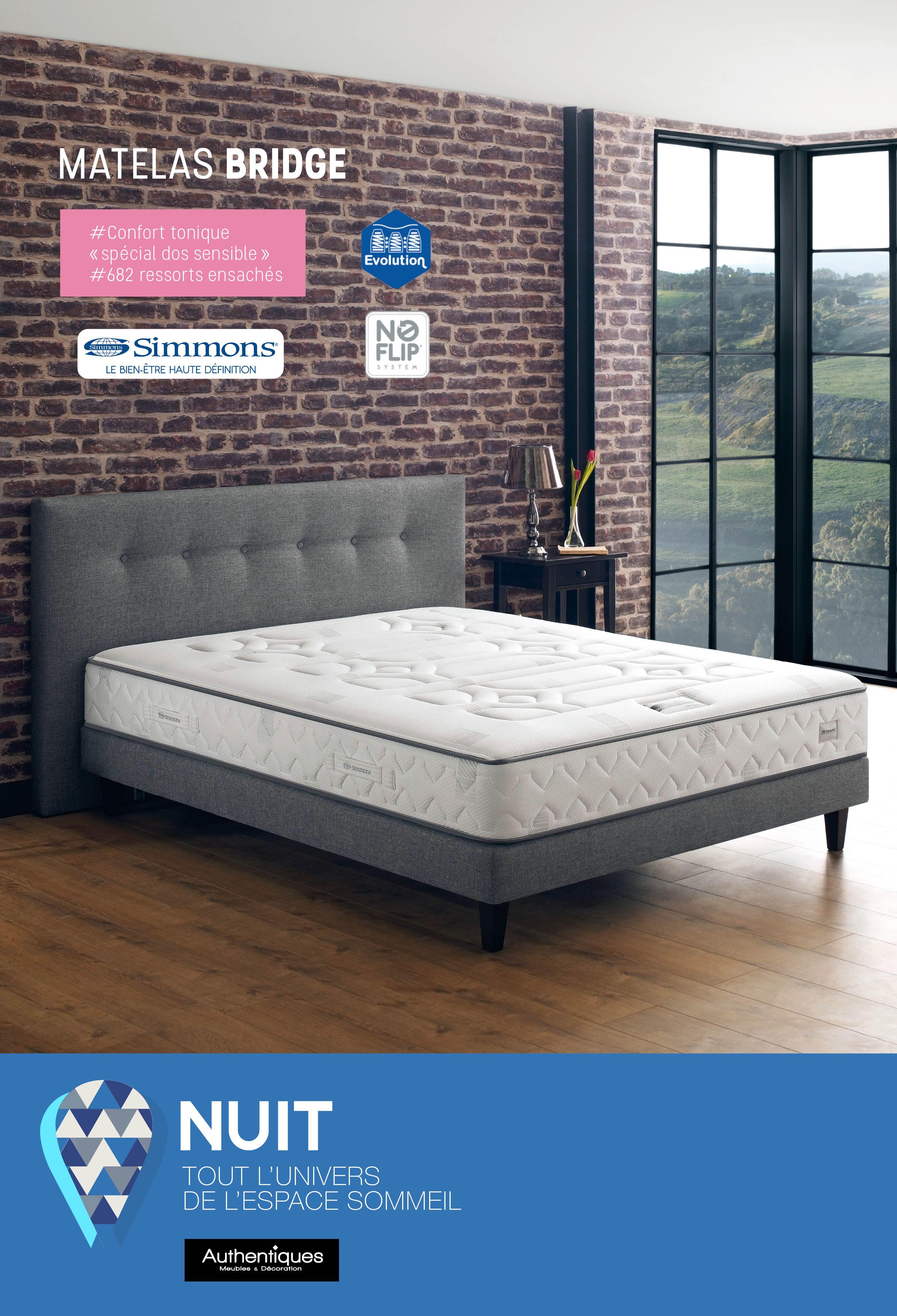 matelas extra ferme affordable matelas bridge confort tonique soutien extra ferme special dos. Black Bedroom Furniture Sets. Home Design Ideas