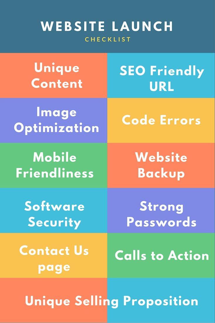Web Development Quotes Website Launch Checklist Web Development Websitebuilder