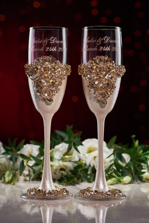 28++ Wedding toast glass box information