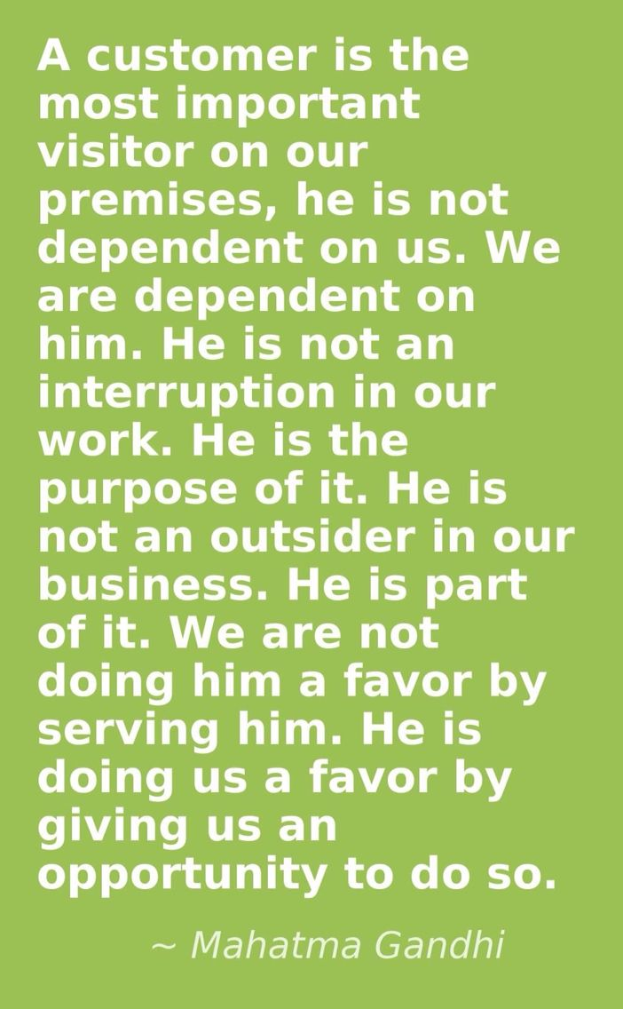 quotes of team players ty howard quote on teamwork team a customer is the most important or on our premises he is not dependent on us we are dependent on him he is not an interruption in our work