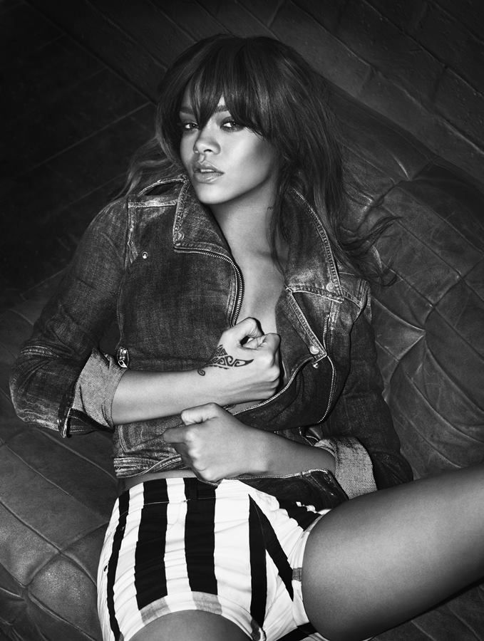 separation shoes great fit latest design Rihanna, nouvelle campagne de pub Armani underwear | The ...