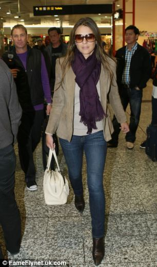 Liz Hurley always looks effortlessly stylish.
