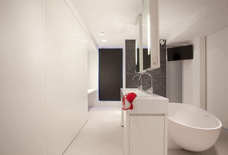 Moderne badkamer design badkamer artimar natuursteen bad