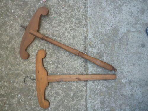 Grucce Per Abiti.Appendiabiti Antiche Grucce Per Abiti In Legno Gruccia Vintage