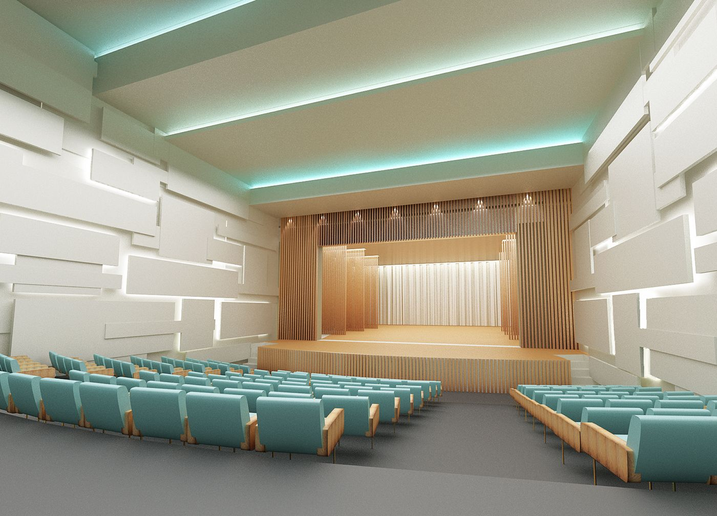 theater interior design by bulataya