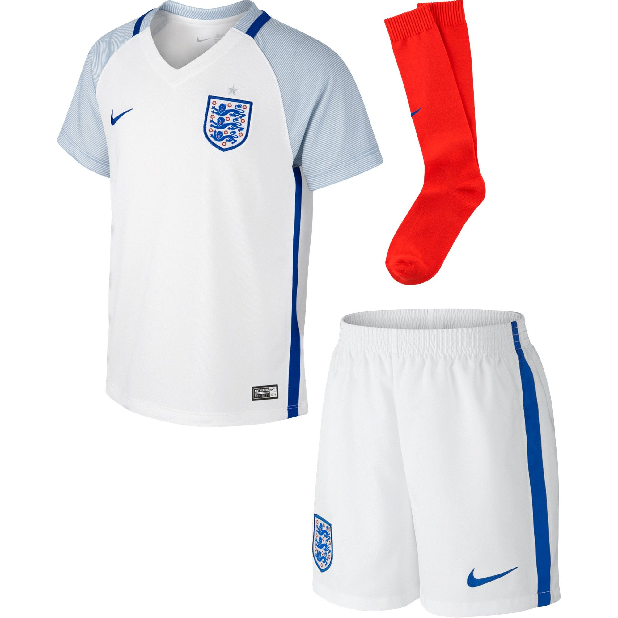 Official Nike England home football shirt from the 201617