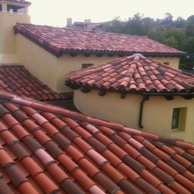 Best Shield Roofing Inc Custom 2 Piece Clay Roof 3 Color Blend 400 x 300
