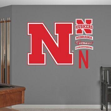 Fathead Nebraska Cornhuskers Wall Decals Cornhuskers Nebraska Cornhuskers Nebraska