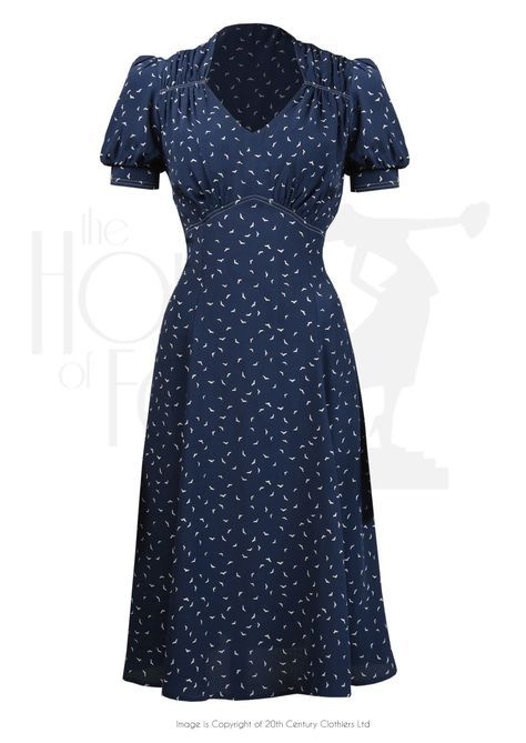 More Forties Inspired Flair: 1940s Style Dresses, Fashion & Clothing