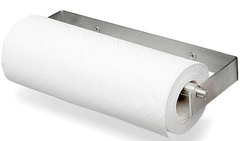 Kitchen High Low Stainless Steel Paper Towel Holder