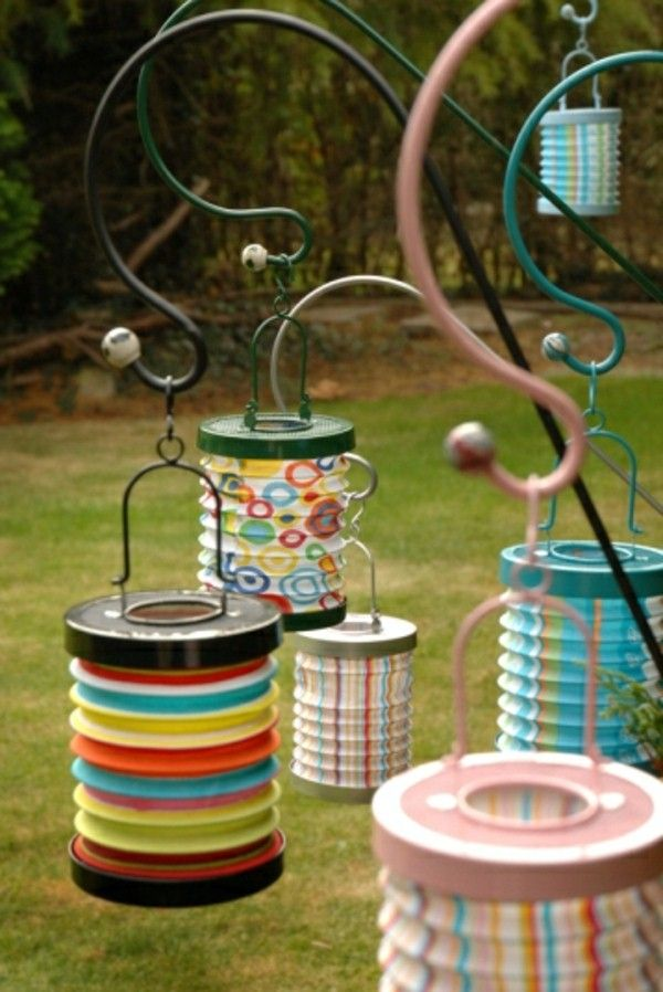 hanging lanterns for outdoor
