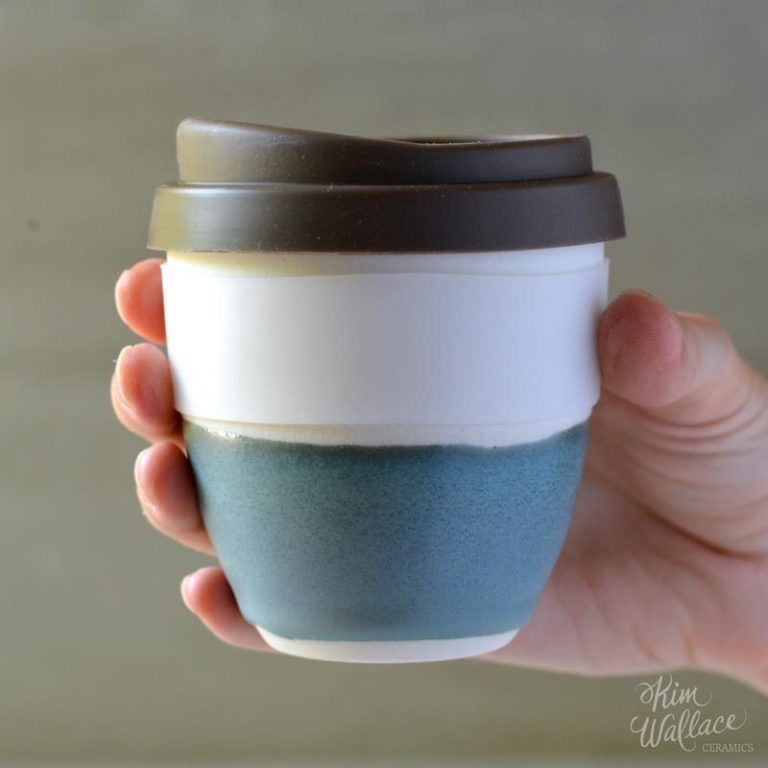 38d045dbb02 Reusable Ceramic Coffee Cups, Handmade Takeaway Coffee Cups | Art ...