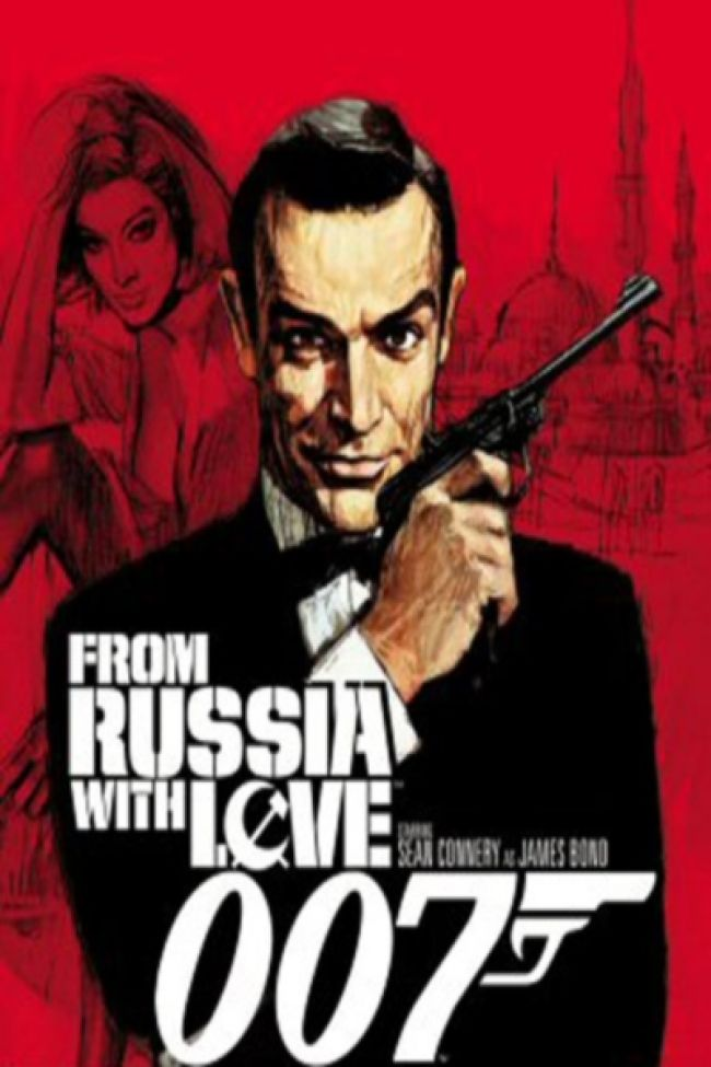 007 Sean Connery From Russia With Love 1963 Posteres De Filmes