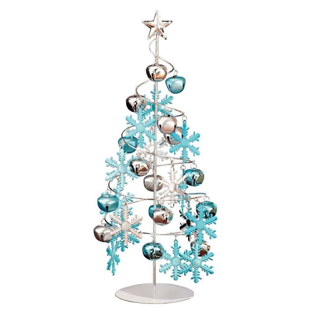 Ornament Display Tree Tabletop Silver With Ornaments Ornament Display Trees Tabletop Christmas Tree Ornament Tree Display Ornament Display