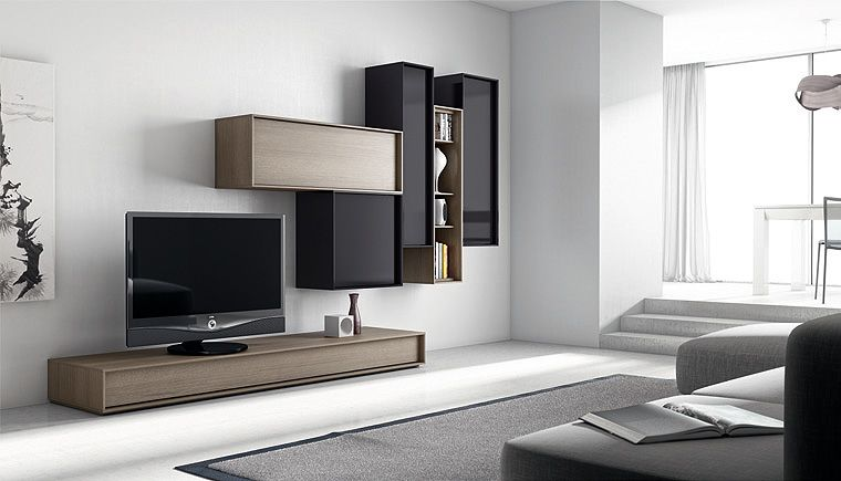 Composiciones modern tv stands muebles de madera - Muebles casanova catalogo ...