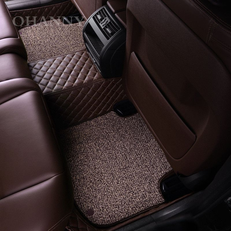 Ohanny Custom Fit Car Styling Floor Mats Case For Jeep Grand Cherokee Commander Compass Patriot R Fit Car Automotive Upholstery Jeep Grand Cherokee Accessories