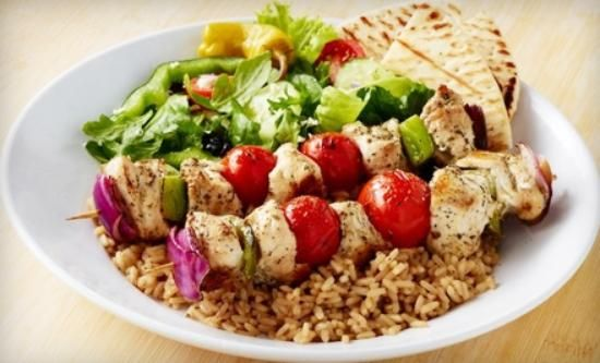 Zoe S Kitchen Fast Healthy Meals Zoes Kitchen Food