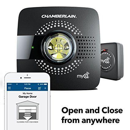 Chamberlain Myq Smart Garage Door Opener Smart Home Devices