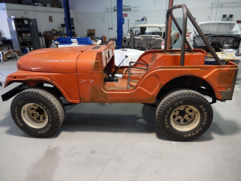 1974 Jeep Cj4 Restoration Jeep Jeep Cj5 Monster Trucks