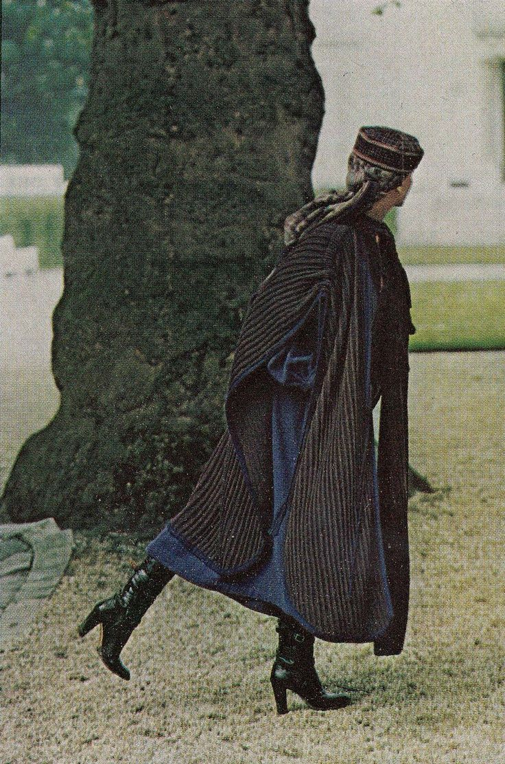 1977-78 - Yves Saint Laurent Couture by Helmut Newton for Vogue US August