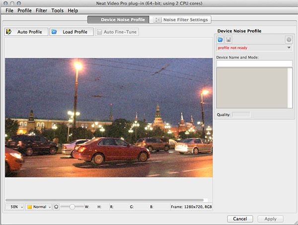 Neat Video Reduce Noise Filter for Final Cut Pro X