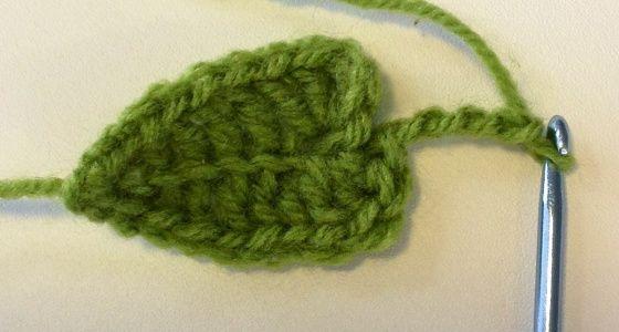 Free Crochet Leaf Tutorial Crochet Leaves Leaves And Crochet