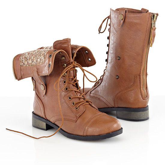 Dark Brown Riding Boots