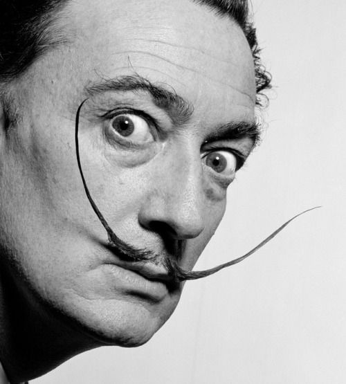 Philippe Halsman: Salvador Dalí, 1954.