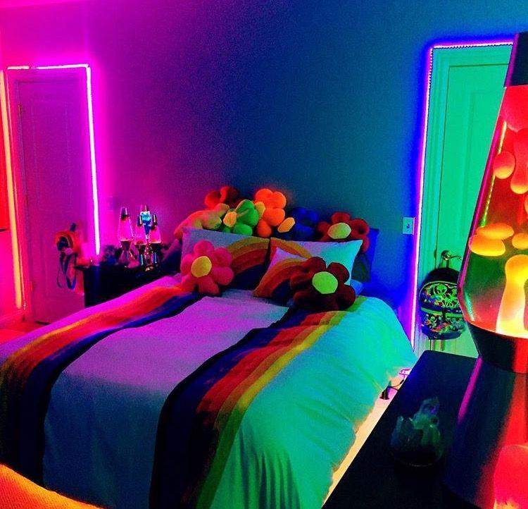 Neon Aesthetic Bedroom Loft Novocom Top
