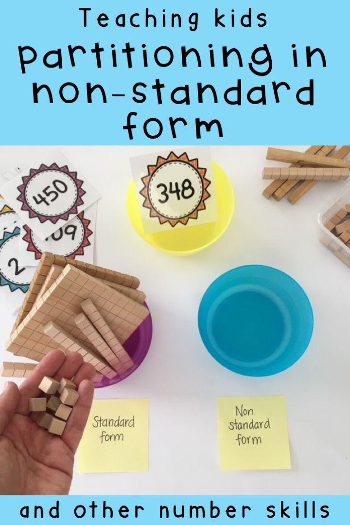Hands on Math activities - Number sense Math centres - Grade 2 ...