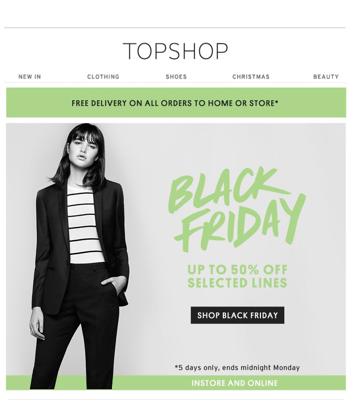 e078cae47 Topshop - Black Friday