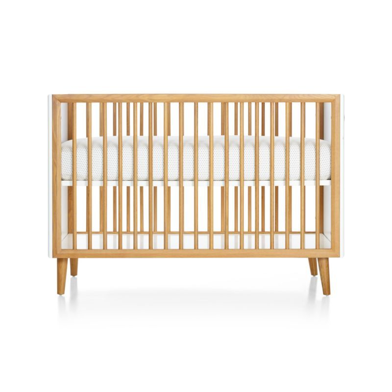 Best Mid Century 3 In 1 Spindle Crib Crate And Barrel In 2020 400 x 300
