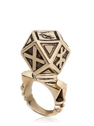 KTZ - BERBER METAL RING - LUISAVIAROMA - LUXURY SHOPPING WORLDWIDE SHIPPING - FLORENCE