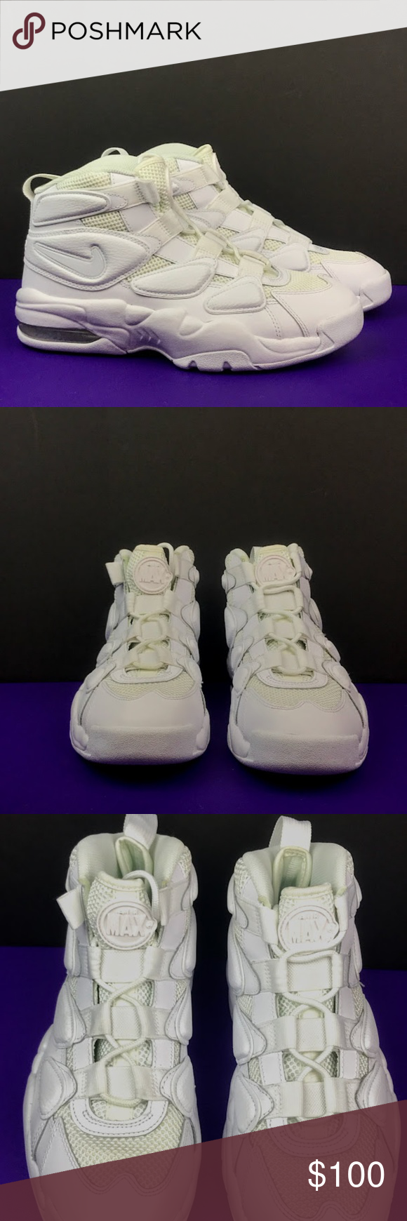 new style b710c be46a NIKE AIR MAX 2 UPTEMPO 94 basketball shoes Size 8 NIKE AIR MAX 2 UPTEMPO
