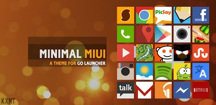 Go Launcher Minimal MIUI Theme v1 9 apk Requirements: 2 2+ Overview
