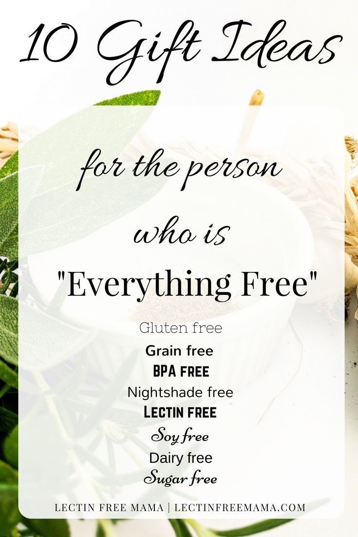 Gift ideas for the person who is everything free holiday gift 10 gift ideas for the lectin free grain free gluten free dairy free negle Gallery