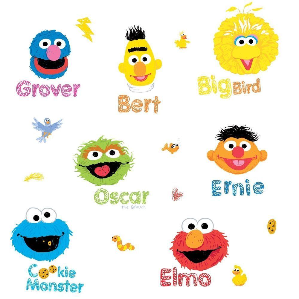 Baby Sesame Street Characters Names SESAME STREET 26 BiG W...