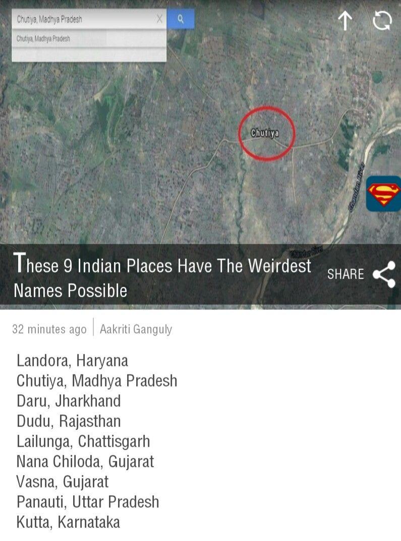 Weirdest Name India